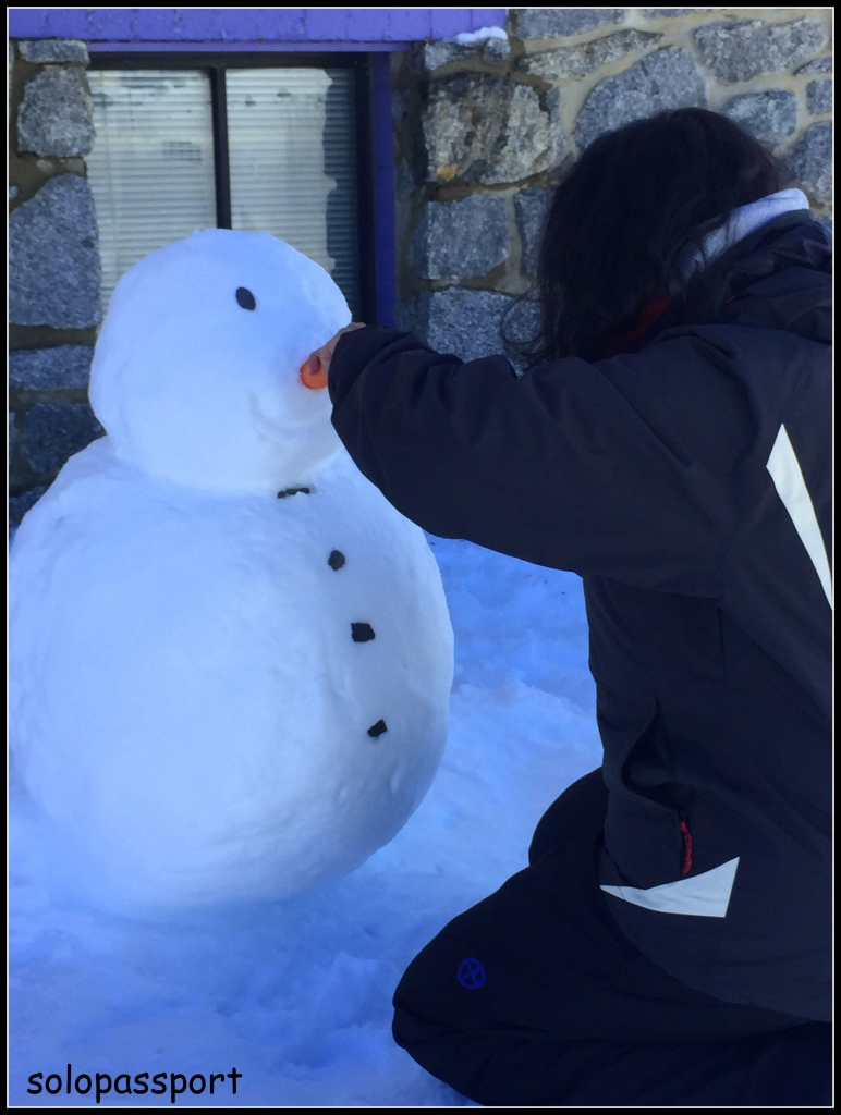 Trying to fix the nose for my snow man :)